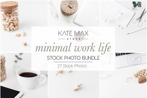 Minimal Office Stock Photo Bundle