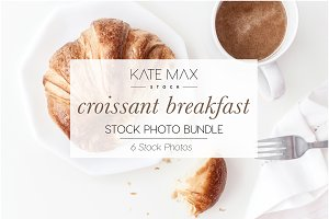 Croissant Lifestyle Stock Photos