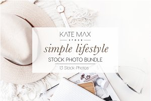 White Lifestyle Stock Photo Bundle