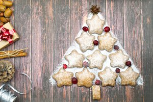 Holiday cookies for Christmas