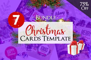 CHRISTMAS POSTCARDS - BUNDLE 75% OFF