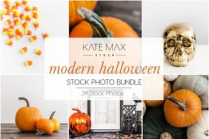 Modern Halloween Stock Photo Bundle