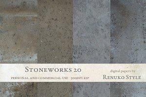 Stoneworks 20 Photoshop Textures