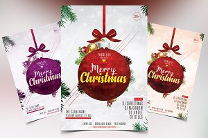 Merry Christmas 2018 - PSD Flyer