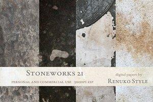 Stoneworks 21 Photoshop Textures