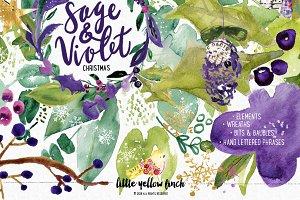 Sage and Violet Christmas