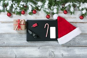 Christmas and Mobile Technology