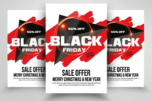 Black Friday Sale Offer Flyers