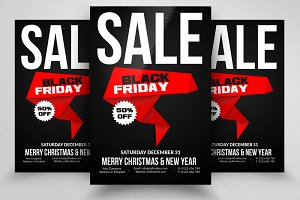 Black Friday Sale Offer Flyers