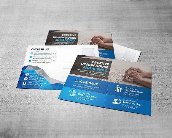 Corporate Postcard-Graphicriver中文最全的素材分享平台