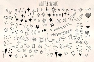 A Little Sparkle 80+ Graphics Bundle