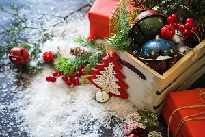 Christmas holiday concept