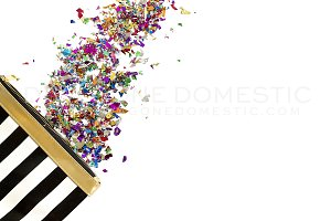 Stock Photo - Modern Color Confetti