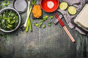 Japanese cuisine ingredients