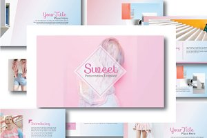 Sweet Powerpoint  Template