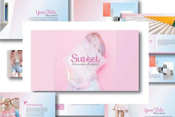 Sweet powerpoint template presentation templates creative market sweet powerpoint template presentations toneelgroepblik Gallery