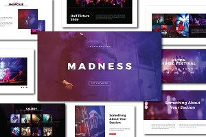 Madness Powerpoint Template