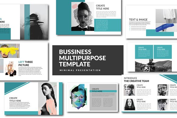 bussiness powerpoint template presentation templates creative market