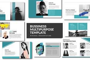 Bussiness Keynote Template