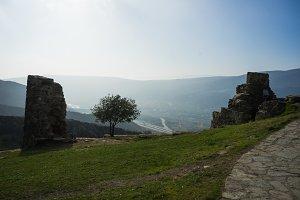 Georgian mountain landscape