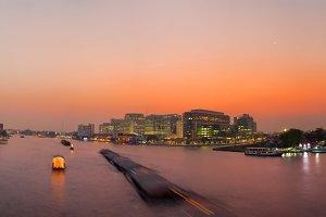 Panorama Chao Phraya River