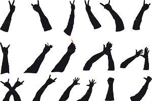 Rock gestures