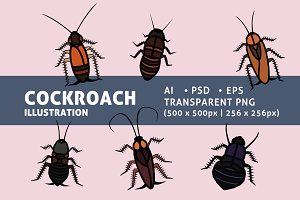 Various Cockroaches