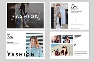 Fashion Postcard V691