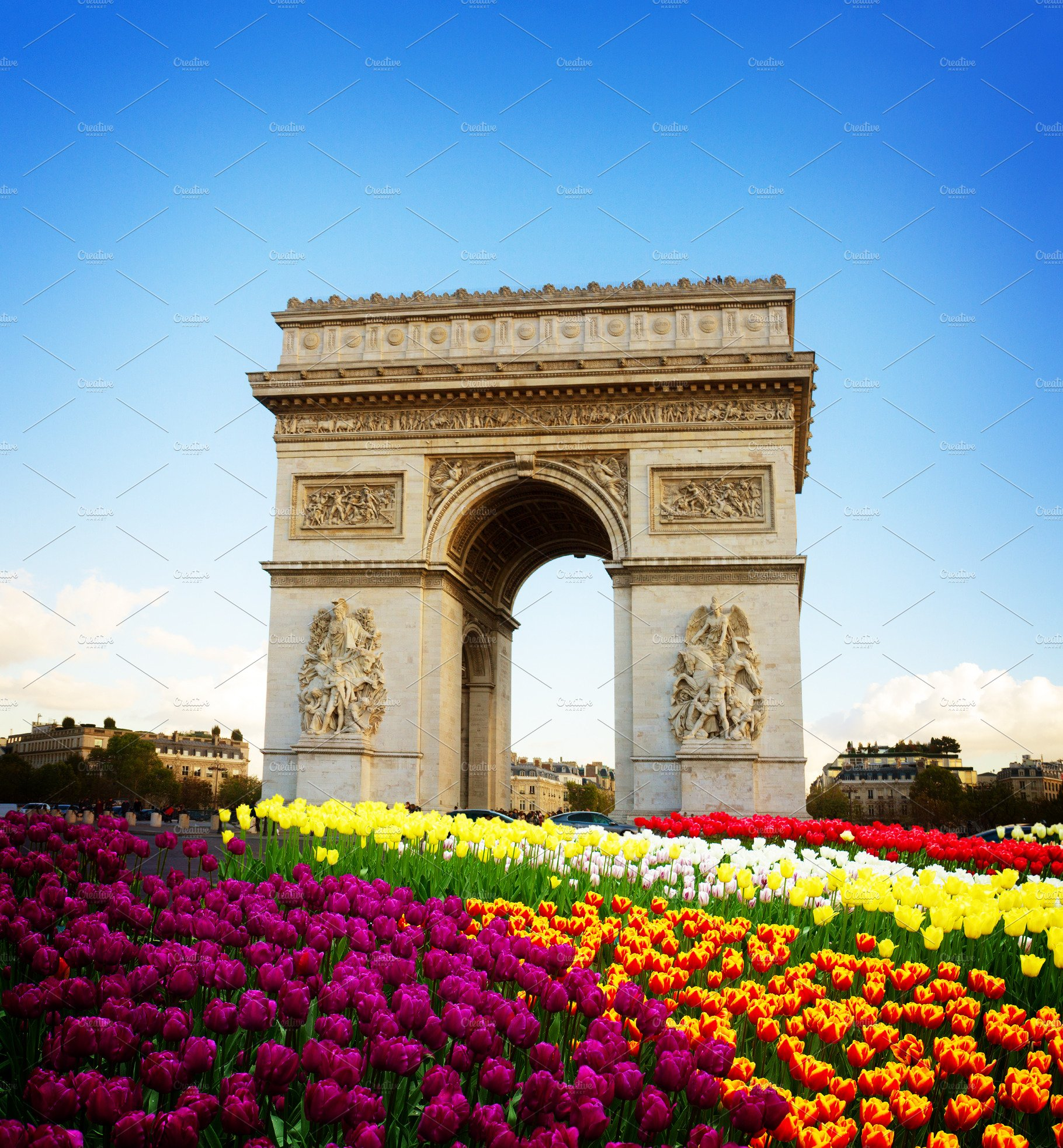 Arc de triomphe, Paris, France ~ Architecture Photos ...