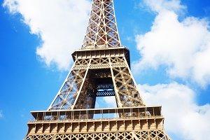 Eiffel Tower at spring, Paris