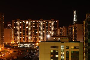 Living Block Buildings Landscape
