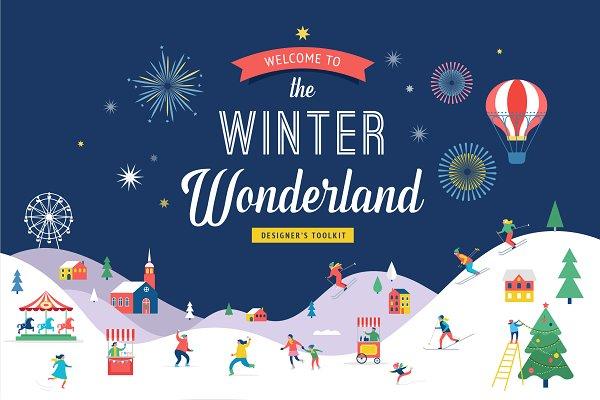 Winter wonderland designer's toolki…