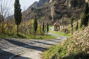 Ancient monastery in Georgia
