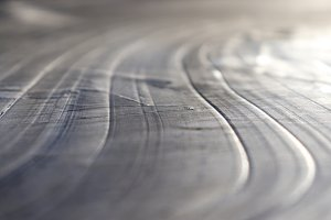 Ice Lake Lines Pattern Surface