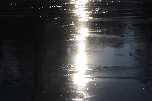 Ice Lake Pattern Surface
