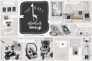 The Baby Essentials Mock Up Kit