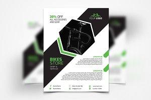 Bike Store Flyer