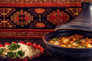 tajine of chicken