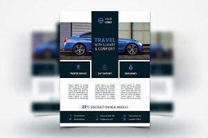 Car Services Flyer