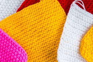 texture fabric knitted