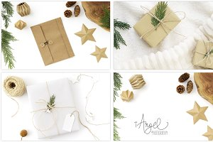 """White & Beige"" Christmas Bundle"