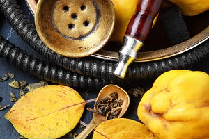 Nargile with quince