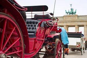 Horse cart, Berlin