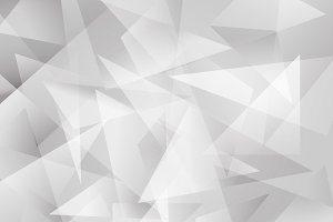 Vector of abstract white geometric b