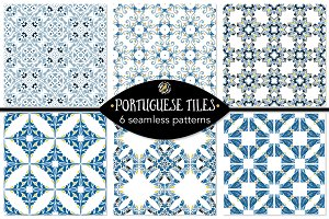 Set 93 - 6 Seamless Patterns