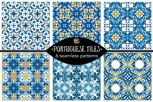 Set 94 - 6 Seamless Patterns