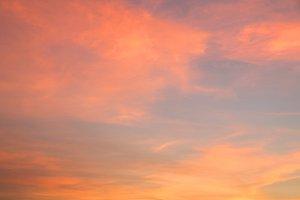 background of twilight sky