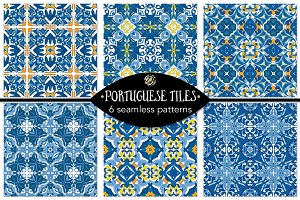 Set 95 - 6 Seamless Patterns