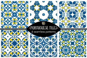 Set 96 - 6 Seamless Patterns