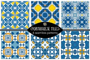 Set 98 - 6 Seamless Patterns